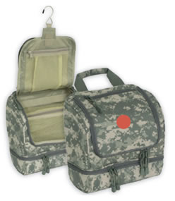 ACU Digital Camo Hanging Shave Utility Kit
