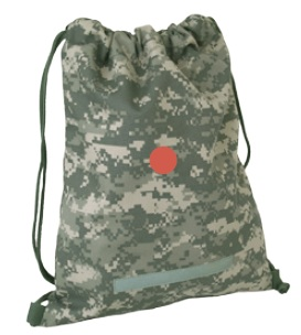 ACU camo drawstring Backpack