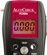 AlcoCheck Breath Alcohol fuel cell device