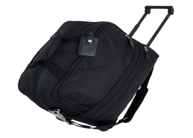 Black Wheeled DUFFLE