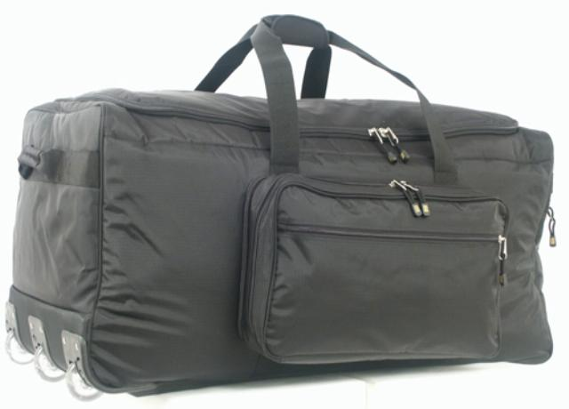 "36"" 3 Wheeled Duffle - Rip Stop and Ballistic Nylon"