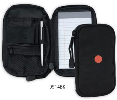 Zippered Pocket Pad w/ Pen