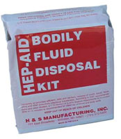 HIV Disposal Kit - 1 Person - Case of 12