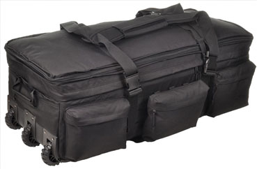 SOC Black Rolling Load Out Bag
