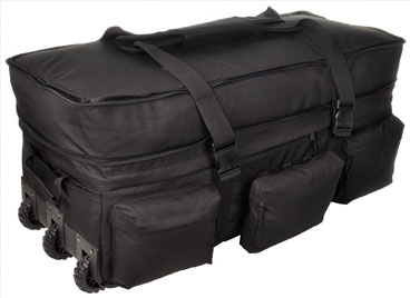SOC Black Rolling Load Out XL Bag