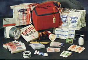 Two Person Emergency Survival Kit (2 people/3 day kit)