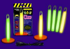 14 Piece Home / Office Emergency Safety Glow Sticks Pack (Case of 24)