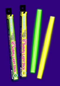 "10"" 12 Hour Safety Glow Sticks (Case of 40)"