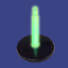Safety Glow Stick Stand for Marking and Emergency Power Outages