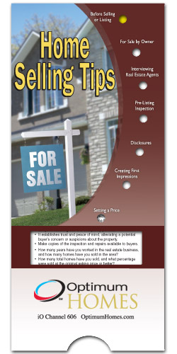 Home Selling Tips Pocket Slider-