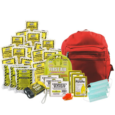 Emergency kits for 3 People