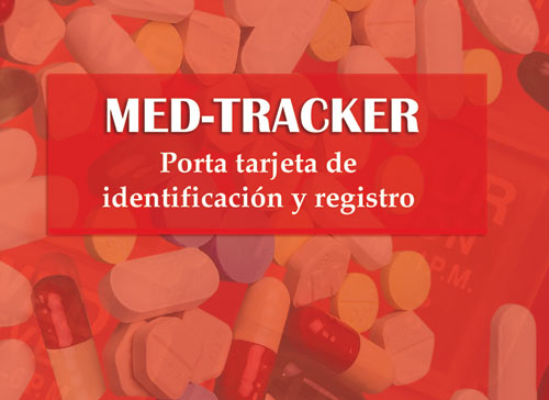 Med-Tracker ID Card Holder & Record Keeper (Spanish Version)