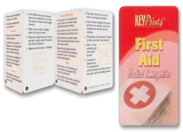 First Aid - Medical Emergencies Key Points