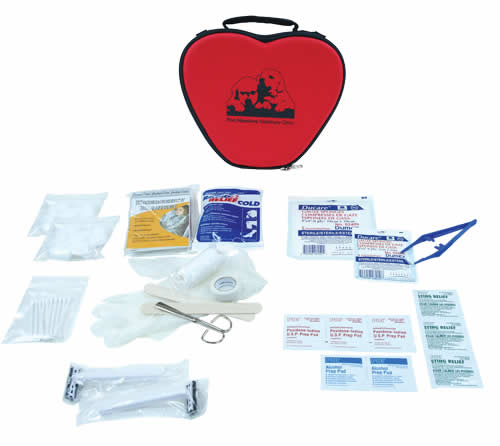 Pet First Aid Kit in EVA Heart