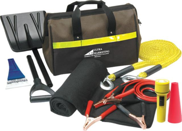 Ultimate Winter Car Emergency Kit<br>Roadside Assitance Program Included!