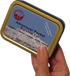 Adventurer Pocket Survival Tin - Civilian