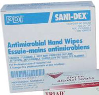 SaniDex Antimicrobial Wipes - Box of 100