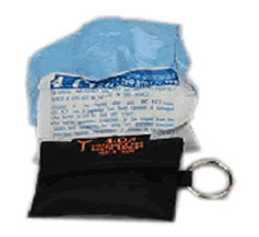 Keychain CPR Mouthpiece with Gloves