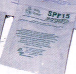 SPF 15 Wipes (Single Use)