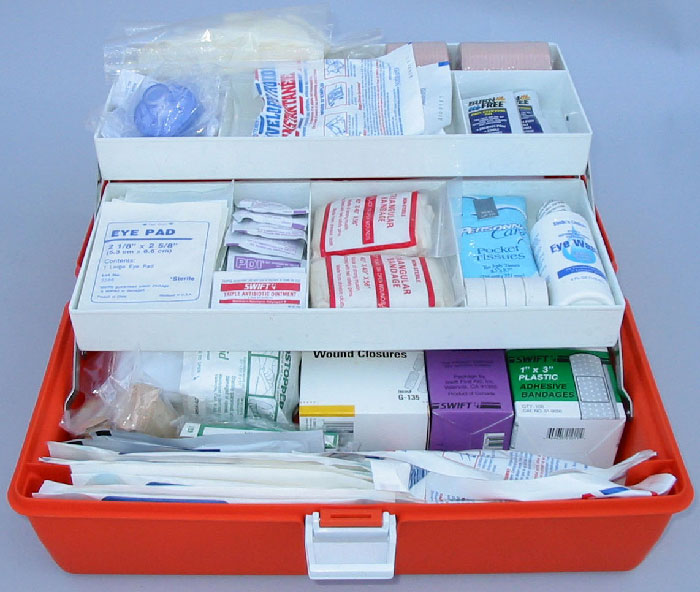 First Aid Kit in the EMS Box