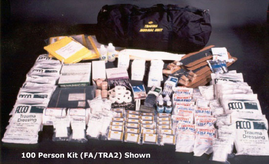 Trauma Kit for 100 People