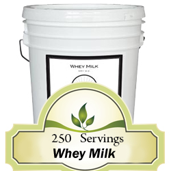 250 Servings Whey Milk<br> 20 Years Shelf Life<br>Free Shipping!