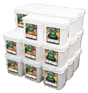 2704 Servings Emergency Food<br>3 Months Supply<br>For Family of 4<br>Free Shipping!