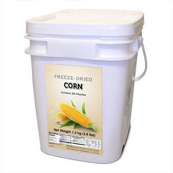 Freeze Dried Corn - 160 Servings<br>Free Shipping!