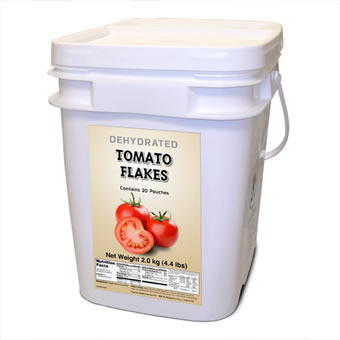 Tomato Flakes - 160 Servings<br> Free Shipping!