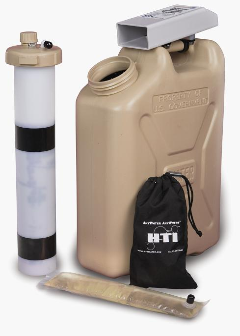 HTI HydroWell Water Filtration System with Can