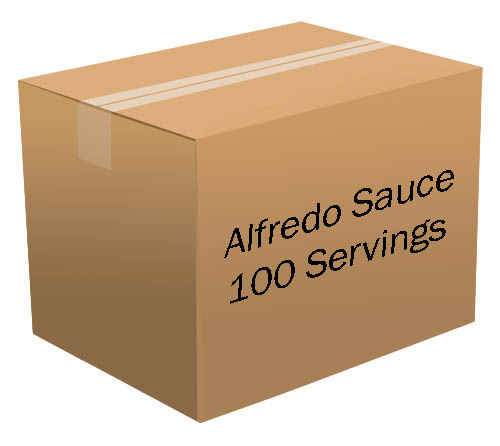 Alfredo Sauce <br>  100 Servings! <br> Free Shipping!!! </br>