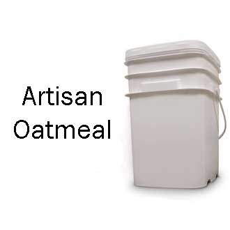 Artisan Oatmeal Bucket <br> 80 Servings! <br> Free Shipping!!! </br>