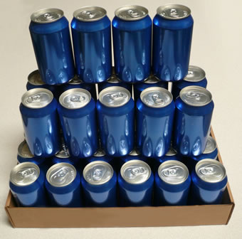 50+ Years Shelf Life<br> 12 Oz Can Case of 24 <br>Made in USA!<br>Free Shipping!