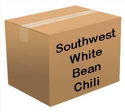 Southwest White Bean Chili Bucket <br> 60 Servings! <br> Free Shipping!!! </br>
