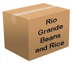Rio Grande Beans and Rice Bucket <br> 60 Servings! <br> Free Shipping!!! </br>