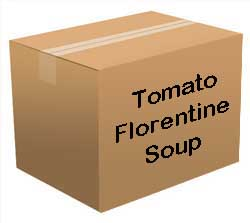 Tomato Florentine Soup Bucket <br> 100 Servings! <br> Free Shipping!!! </br>