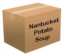 Nantucket Potato Soup Bucket <br> 100 Servings! </br> Free Shipping!!! </br>