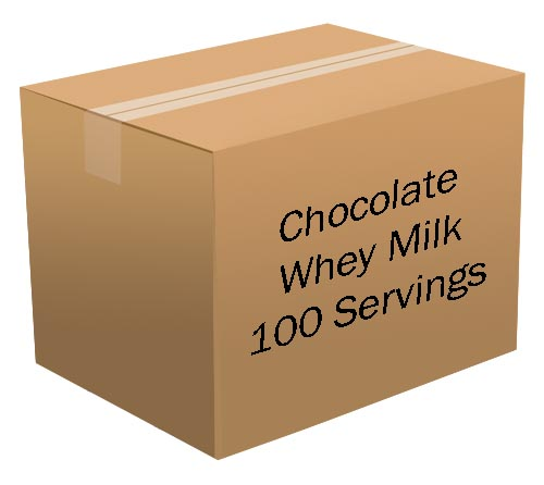 Chocolate Whey Milk <br> 100 Servings! <br> Free Shipping!!! </br>