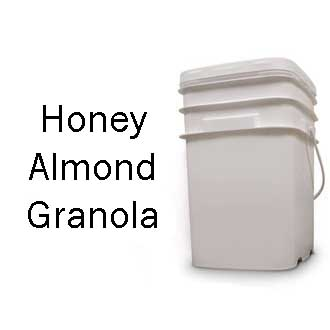 Honey Almond Granola <br> 100 Servings! <br> Free Shipping!!! </br>