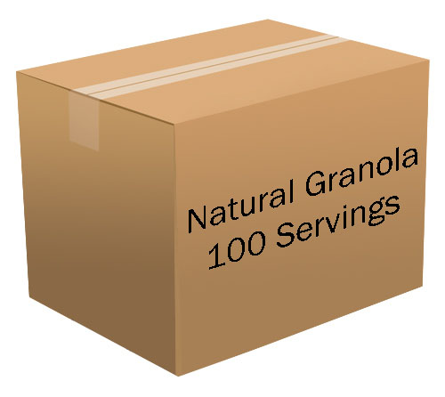 Natural Granola <br> 100 Servings! <br> Free Shipping!!! </br>