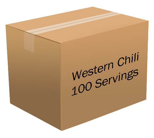 Western Chili <br> 100 Servings! <br> Free Shipping!!! </br>