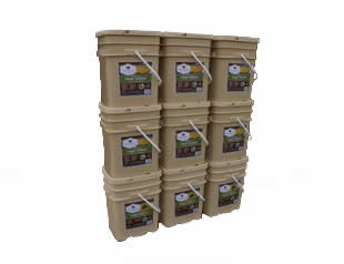 <strike>1080</strike>1280 Servings Entree's and one Free Bucket Combo<br>25 Years Shelf Life<br>Free Shipping!!!