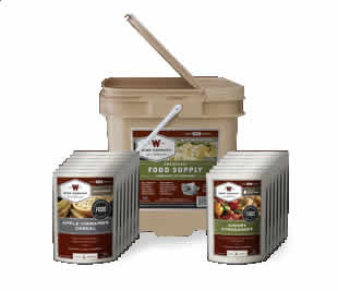 56 Serving Bucket 25 Years Shelf Life<br>FREE Shipping!