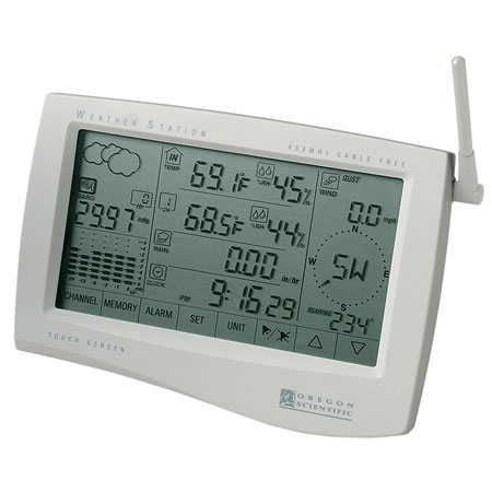 Cable Free Weather Station