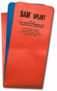 Sam Splint Retail Packaging