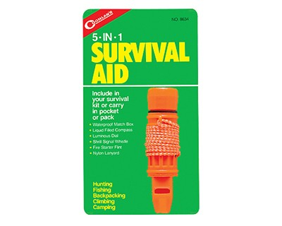 Survival Aid Kit - 5-in-1