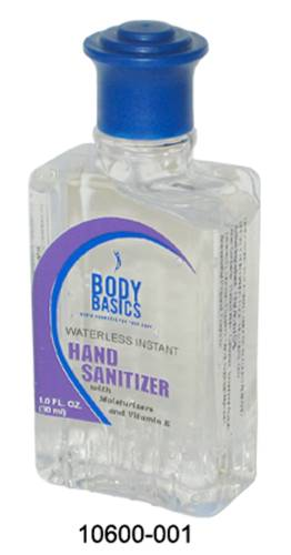 1 oz Moisturizing Antibacterial Hand Sanitizing Gel