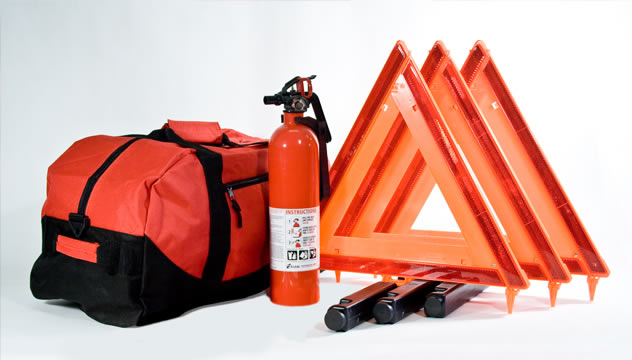 Essential DOT Compliant Truck Kit in Duffel Bag