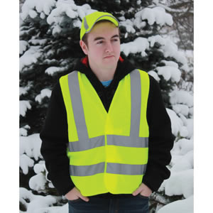 Yellow Class 2 Safety Vest