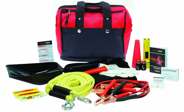 Winter Car Emergency Kit<br>Roadside Assistance Program Included!